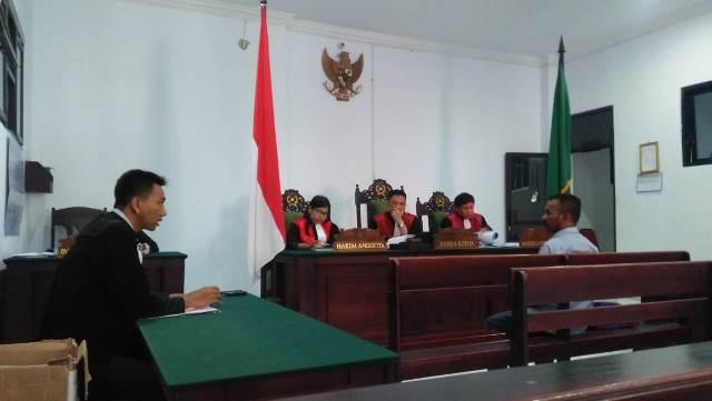JPU Tuntut Kades Letwurung 5,6 Tahun Penjara