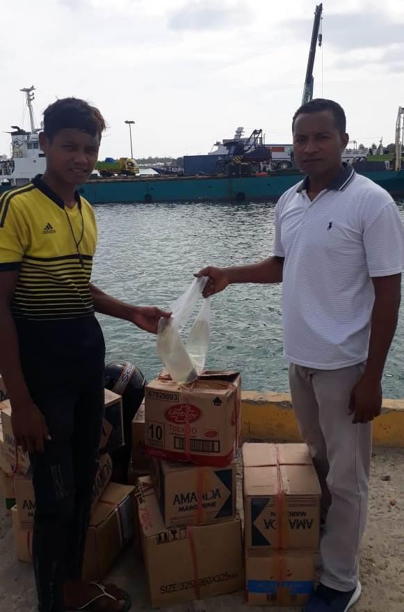 Polres SBT Sita 260 Liter Sopi