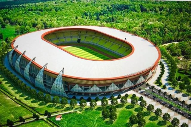 "Stadion Utama Papua Bangkit Masuk Nominasi ""Stadium of The Year"""