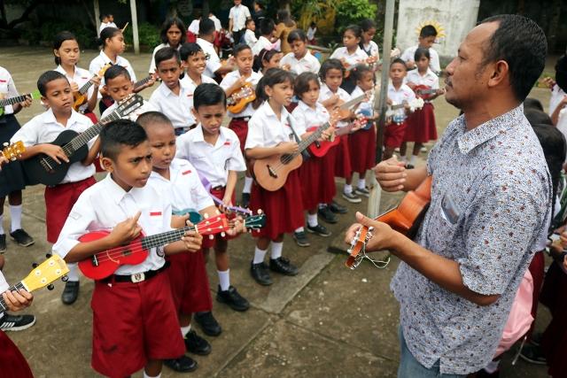 Pemkot Ambon Godok Kurikulum Lokal Berbasis Musik