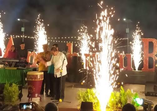 Pesta Kembang Api Warnai Peluncuran 'Visit Ambon 2020'