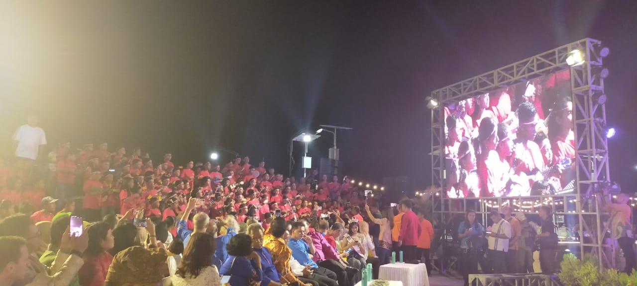 Parade Musik Warnai Peluncuran 'Visit Ambon 2020'