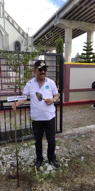 Peringati HPSN, Wali Kota Ambon: Sampah Bukan Musuh