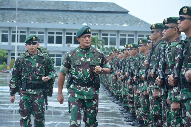 500 Personel Armed 9 Kostrad Ditugaskan ke Maluku