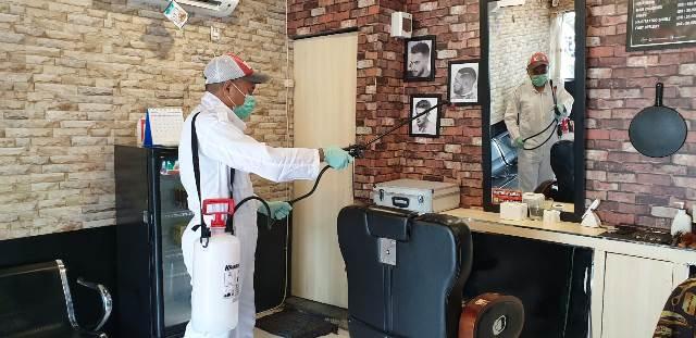 Ini Langkah Body's Barber Cegah Corona