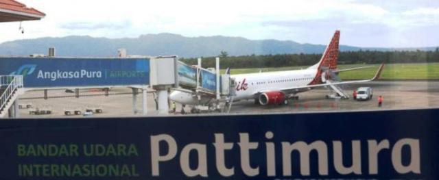 Dampak Covid-19, Penerbangan Di Bandara Pattimura Menurun