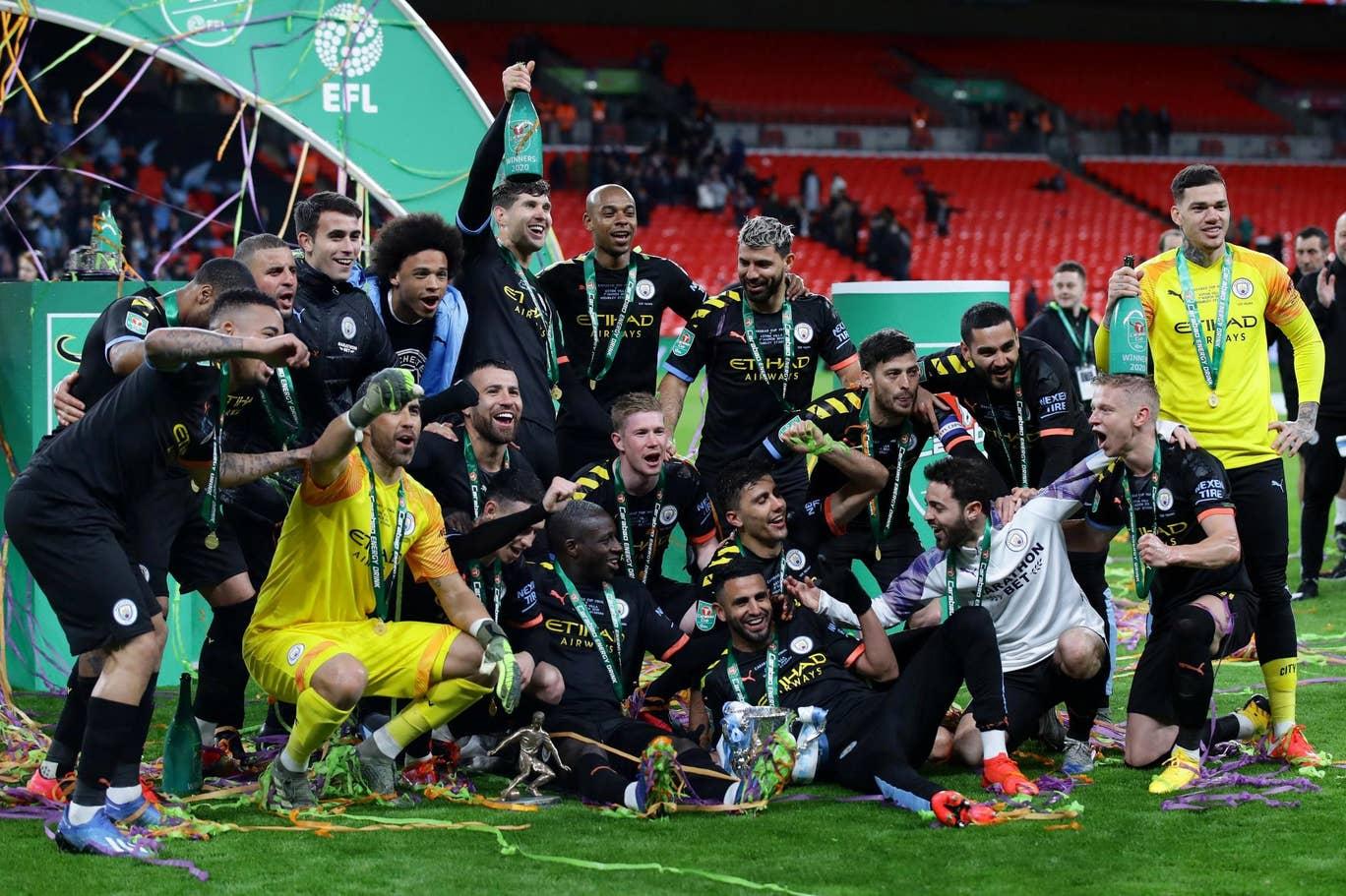 Manchester City Juara Piala Liga Inggris 2019 2020