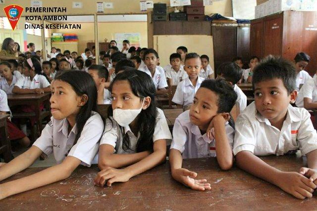 Dinkes Ambon Rutin Sosialisasi Cegah Virus Corona ke Sekolah