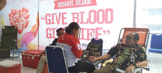 Peringati HUT ke-21, SP BNI Ambon Gelar Donor Darah