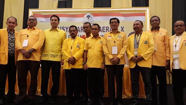 Golkar Optimis Menang 4 Pilkada di Maluku