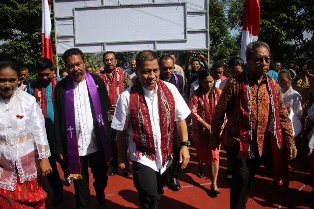 Hadiri Persidangan Jemaat GPM Pandan Kasturi, Kapolda Maluku: Rumah Ibadah Efektif Bentuk Karakter
