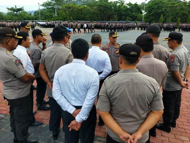 Pimpin Apel Perdana, Kapolda Maluku: Tingkatkan Disiplin