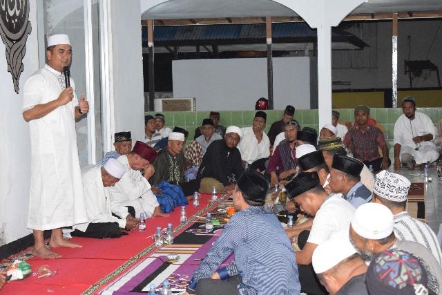 Kapolres SBT Jalin Silaturahmi dengan Warga