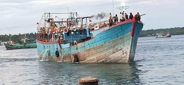 ABK KM Sanjaya-33 Ditemukan Tewas Terapung