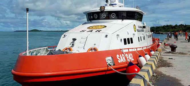 Kapal SAR Dikerahkan dari Tual Bantu Pencarian KM Sanjaya-33