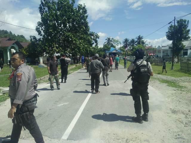Warga Desa Latu & Hualoy Kembali Bentrok, Satu Luka