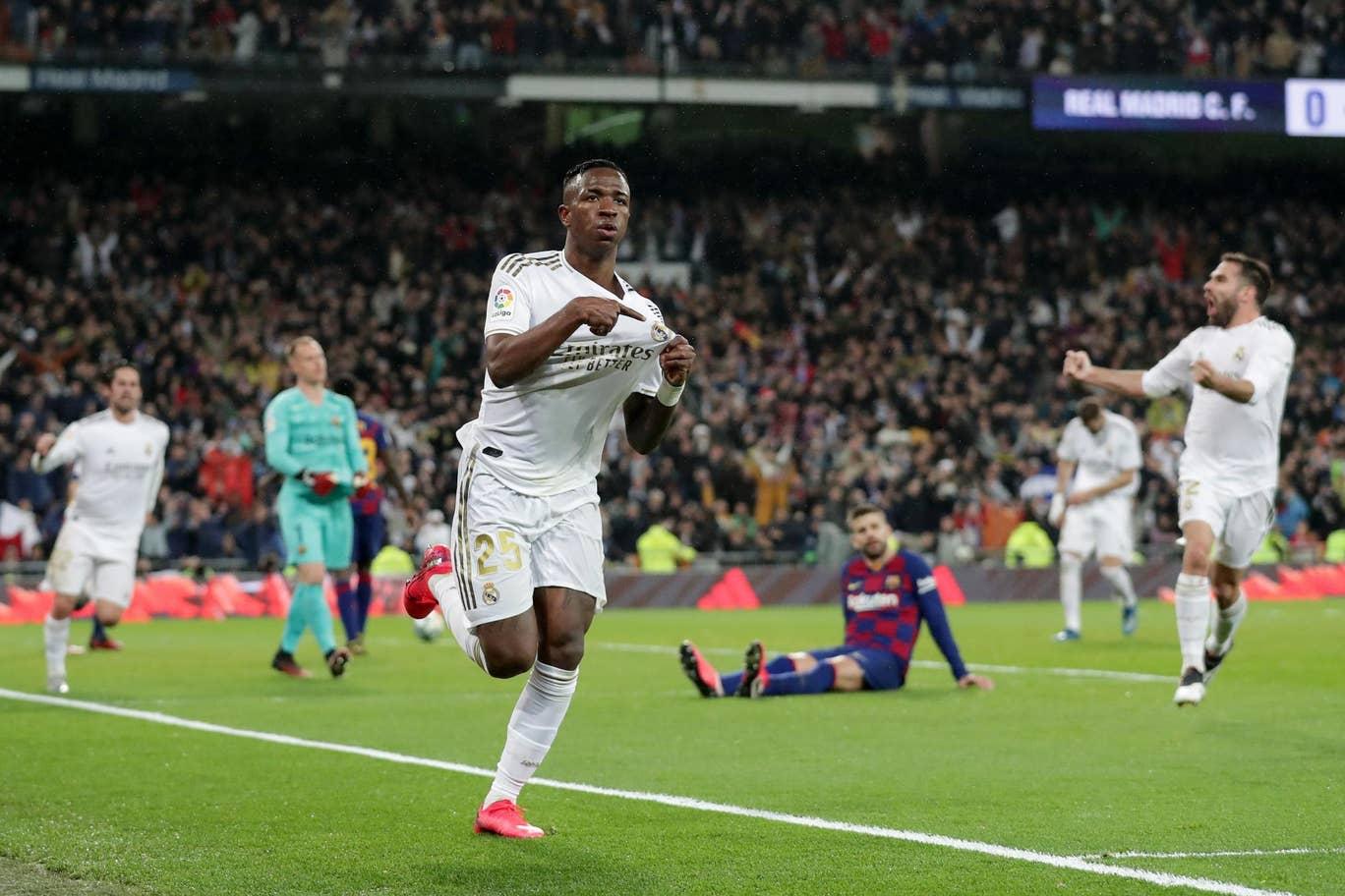 Kalahkan Barcelona 2-0, Real Madrid Puncaki Klasemen Liga Spanyol