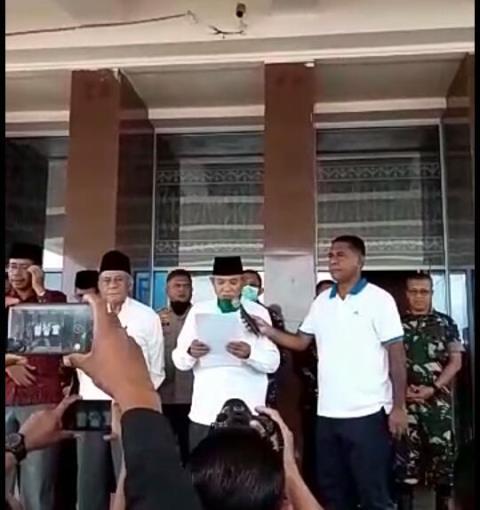 MUI Maluku: Shalat Jumat Ditiadakan