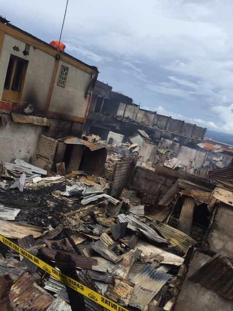 Polisi Selidiki Penyebab Kebakaran di Kawasan Ongkoliong Batu Merah