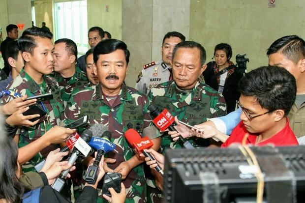 28 Perwira Tinggi TNI Bergeser Posisi