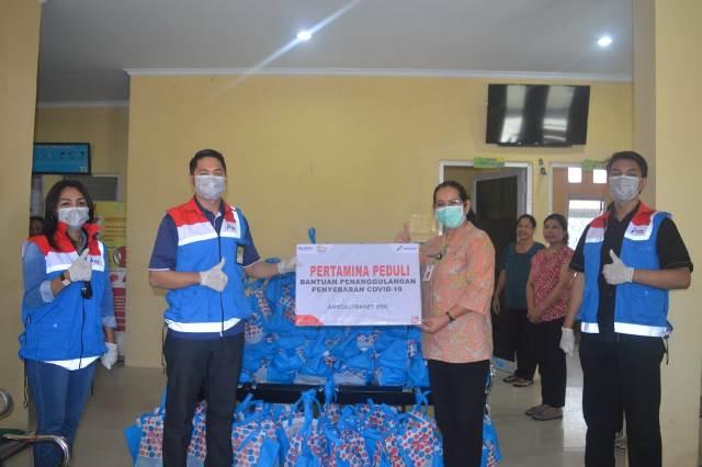 Pertamina Bantu 3 Puskesmas di Ambon Cegah Covid-19