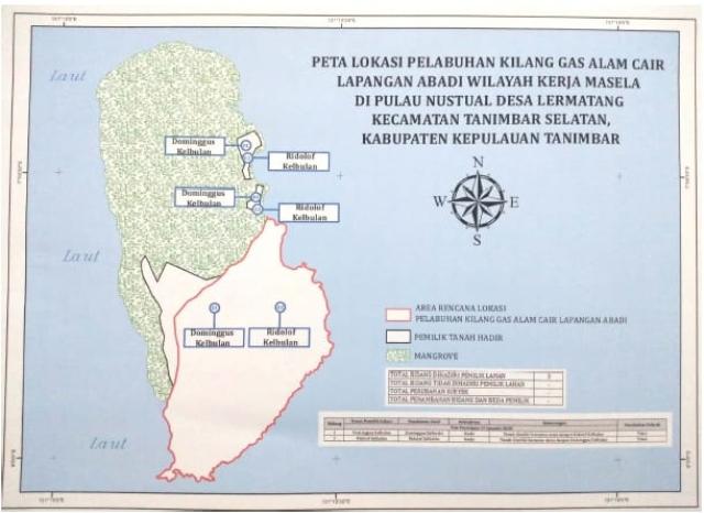 Ini Lokasi Pelabuhan Kilang LNG Masela