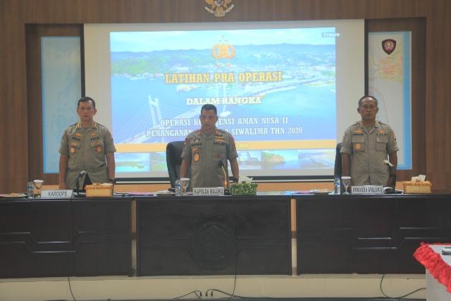 Cegah Covid-19, Polda Maluku Bakal Gelar Operasi Kontijensi Aman Nusa II