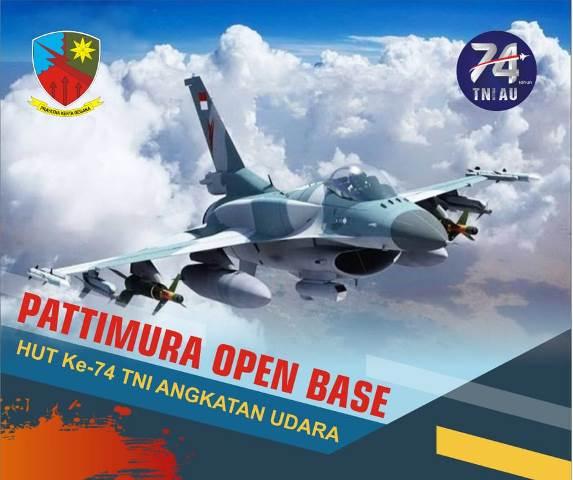 3 Pesawat Tempur F-16 Akan Meriahkan 'Pattimura Open Base'