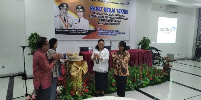 DPPKB Kota Ambon Gelar Rapat Teknis Program Bangga Kencana