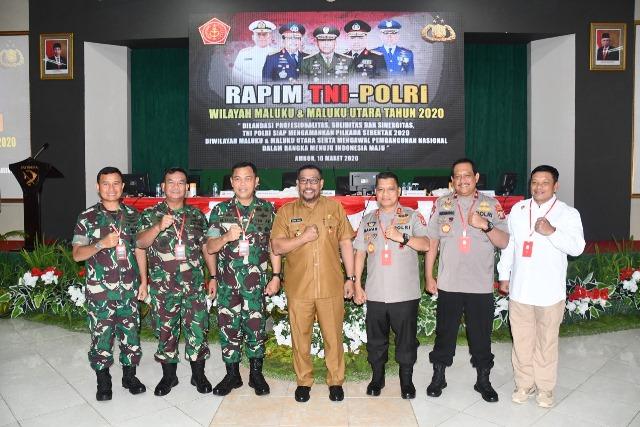 Gubernur: Bangun Maluku Butuh Kerjasama TNI Polri