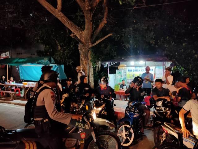 Ciptakan Kondisi Aman, Personel Sabhara Polda Maluku Intensifkan Patroli