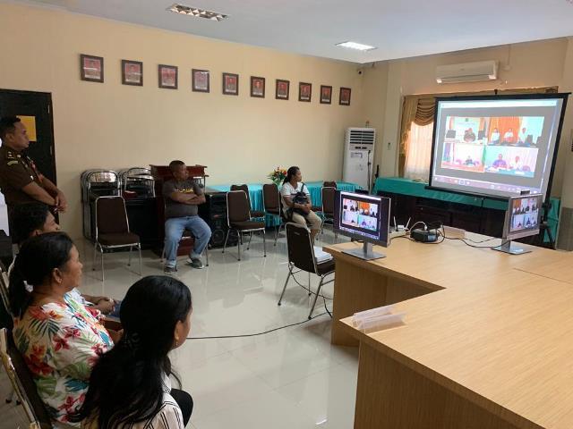 PN Ambon Gelar Sidang Secara 'Online'