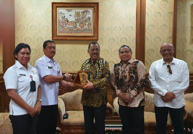 Pemkot Ambon & Pemkab Badung Jajaki Kolaborasi 'Ambon-Bali Music Art Festival'