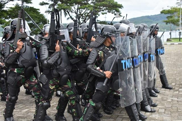 Kemampuan & Kesiapsiagaan Prajurit Lantamal Ambon Diuji