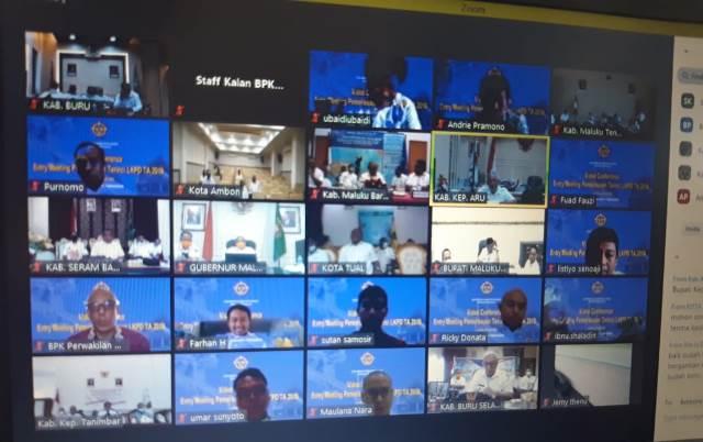 Jelang Periksa LKPD 2019, BPK Maluku Gelar 'Entry Meeting'