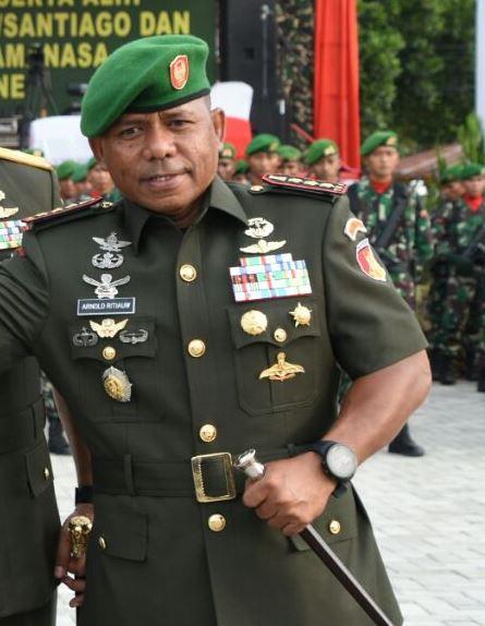 Mutasi TNI, Ritiauw Jadi Danrem Binaiya, Sopamena Danrem Babullah