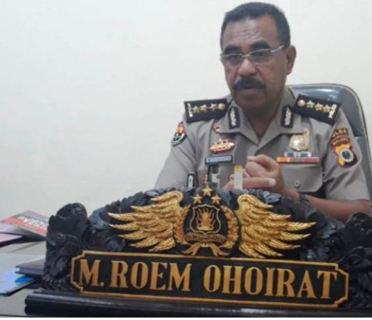 Polisi Amankan Lima Penambang Ilegal Di Gunung Botak