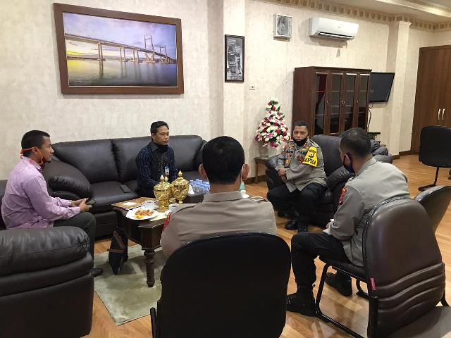 Kapolda Maluku Harap Bank Layani Nasabah Sesuai Prosedur Cegah Covid-19