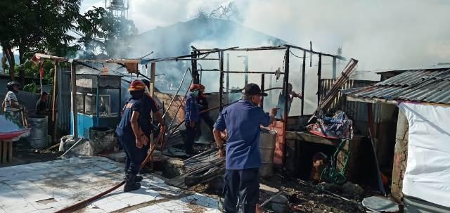 Rumah Warga Karpan Ludes Dilalap Api