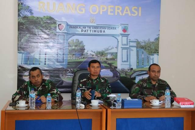 Danlanud Pattimura Ikuti Musrenbang RKPD Maluku Secara Virtual