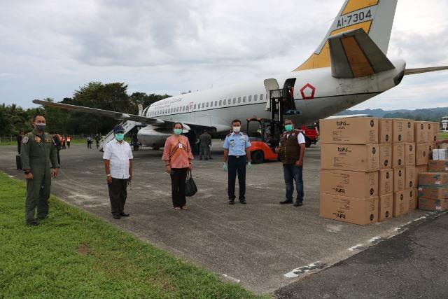 Bantuan Masker & APD Covid-19 Tiba di Ambon