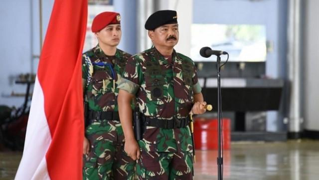 Mutasi TNI, Sejumlah Pejabat Kodam Pattimura Bergeser Posisi