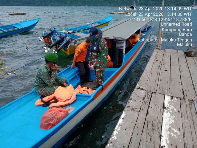 Kapal Pengangkut BBM Mati Mesin Di Laut Banda