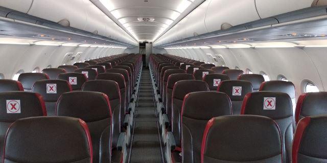 3 Mei Terbang Lagi, Lion Air Group Terapkan Jaga Jarak Di Kabin Pesawat