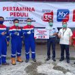 Pertamina Peduli & Sinergi BUMN Salurkan Bantuan Covid-19 Di Maluku