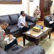 Temui Kapolda Maluku, Raja Negeri Aboru Sampaikan Keluhan Warga