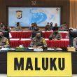 Wakapolda Maluku Vicon Bersama Wakapolri, Ini Yang Dibahas
