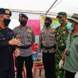 Dansat Brimob Maluku Tinjau Personel Pengamanan PKM
