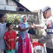 Peduli Covid-19, Brimob Maluku Bagikan Paket Pangan