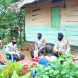 Baronda Kamtibmas, Brimob Maluku Sosialisasikan New Normal